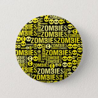 Zombies Mosaic 6 Cm Round Badge