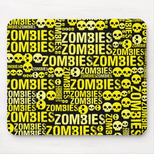 Zombies Mosaic Mouse Pad