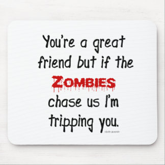 Zombies Mouse Mat