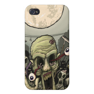 Zombies Night Out Cases For iPhone 4
