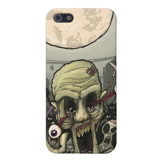 Zombies Night Out Cover For iPhone 5