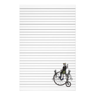 Zombies on Penny Farthings, stationery