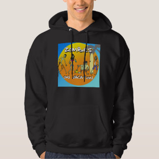 Zombies On Vacation Hoodie