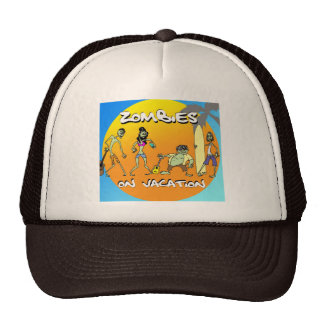 Zombies On Vacation Trucker Hat