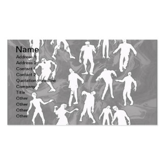ZOMBIES PACK OF STANDARD BUSINESS CARDS