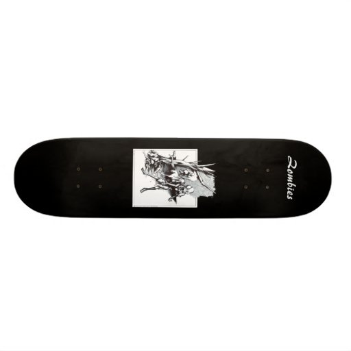 Zombies Skate Deck