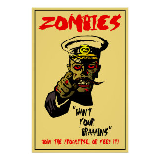 Zombies Want... Poster