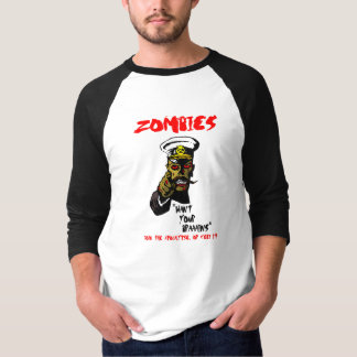 Zombies want... T-Shirt