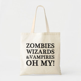 Zombies, Wizards, and Vampires--Oh My! Book Bag