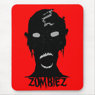 ZOMBIEZ BLK. & RED MOUSE PAD