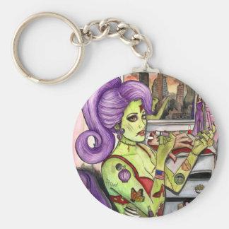 Zombilicious Keychain