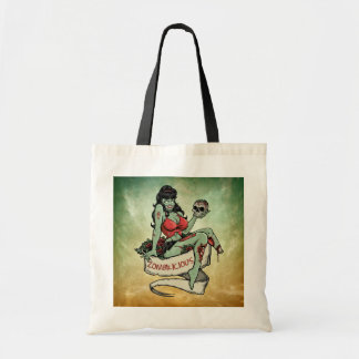 Zombilicious Zombie Girl Tote Bag
