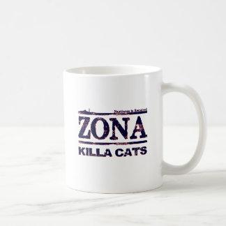 Zona Killa Cats - Nastiness is Required Basic White Mug