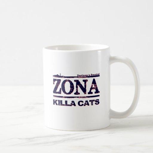 Zona Killa Cats - Nastiness is Required Mug