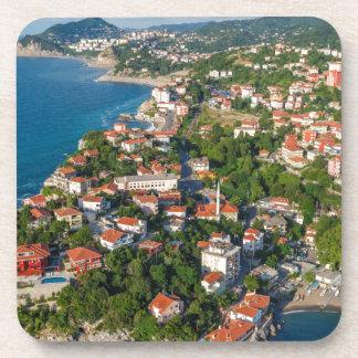 Zonguldak, Aerial, Black Sea Coast Of Turkey 2 Coaster