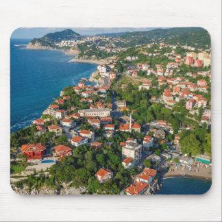 Zonguldak, Aerial, Black Sea Coast Of Turkey 2 Mouse Mat