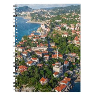 Zonguldak, Aerial, Black Sea Coast Of Turkey 2 Notebook