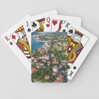 Zonguldak, Aerial, Black Sea Coast Of Turkey 2 Playing Cards