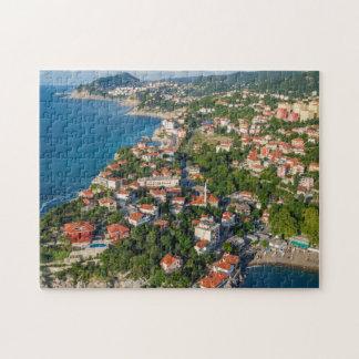 Zonguldak, Aerial, Black Sea Coast Of Turkey 2 Puzzle