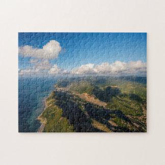 Zonguldak, Aerial, Black Sea Coast Of Turkey Jigsaw Puzzle