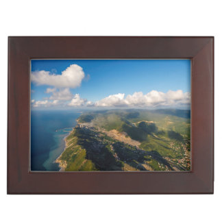 Zonguldak, Aerial, Black Sea Coast Of Turkey Keepsake Boxes