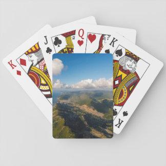 Zonguldak, Aerial, Black Sea Coast Of Turkey Playing Cards