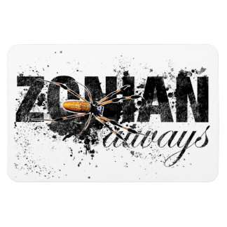 Zonian Always with Spider (textured) Magnet