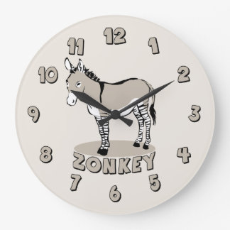 Zonkey Large Clock