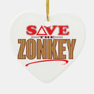 Zonkey Save Christmas Ornament