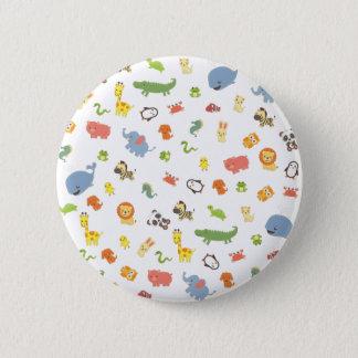 Zoo 6 Cm Round Badge