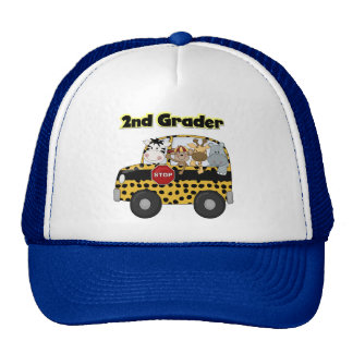 Zoo Animals 2nd Grade Tshirts and Gifts Cap