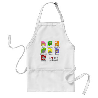 Zoo Animals Tshirts and Gifts Standard Apron