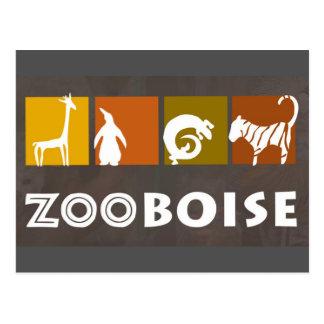 Zoo Boise Postcard