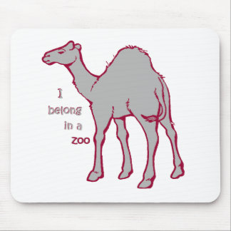 Zoo Camel Mouse Pad