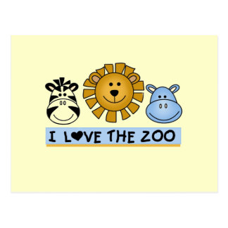 Zoo Friends T-shirts and Gifts Postcards