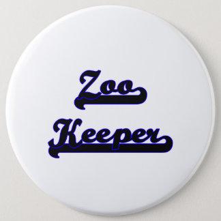 Zoo Keeper Classic Job Design 6 Cm Round Badge
