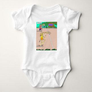 Zoo Olympics Baby Bodysuit