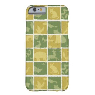 zoo themed pattern barely there iPhone 6 case