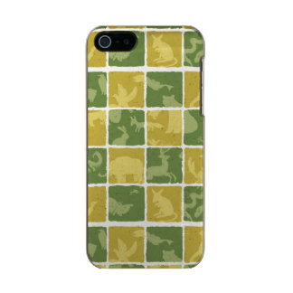 zoo themed pattern incipio feather® shine iPhone 5 case