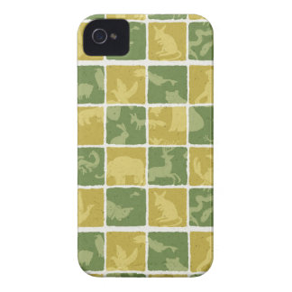 zoo themed pattern iPhone 4 cover