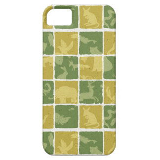 zoo themed pattern iPhone 5 cover