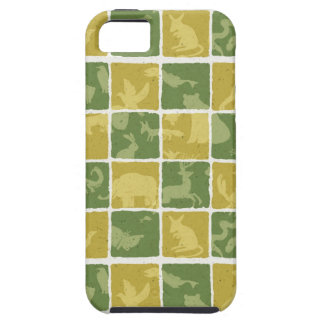 zoo themed pattern iPhone 5 covers