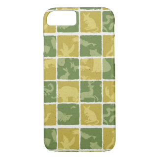 zoo themed pattern iPhone 7 case