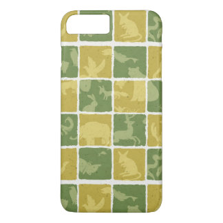 zoo themed pattern iPhone 7 plus case