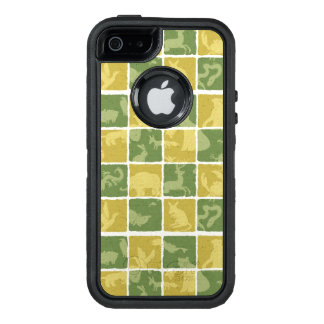 zoo themed pattern OtterBox iPhone 5/5s/SE case