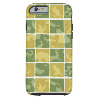 zoo themed pattern tough iPhone 6 case
