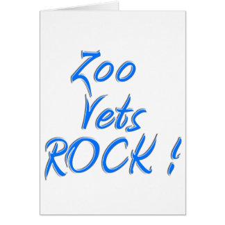 Zoo Vets Rock ! Card