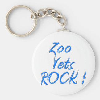 Zoo Vets Rock ! Keychain