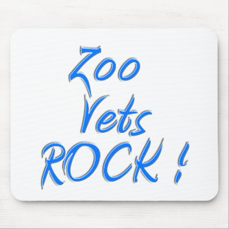 Zoo Vets Rock Mouse Pad