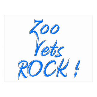 Zoo Vets Rock ! Postcard